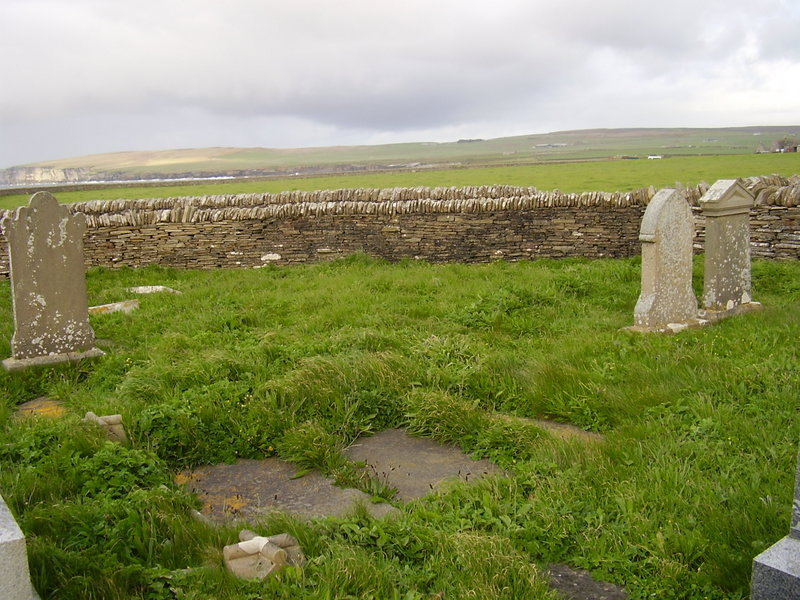Cemetery to Brims Castle and Head