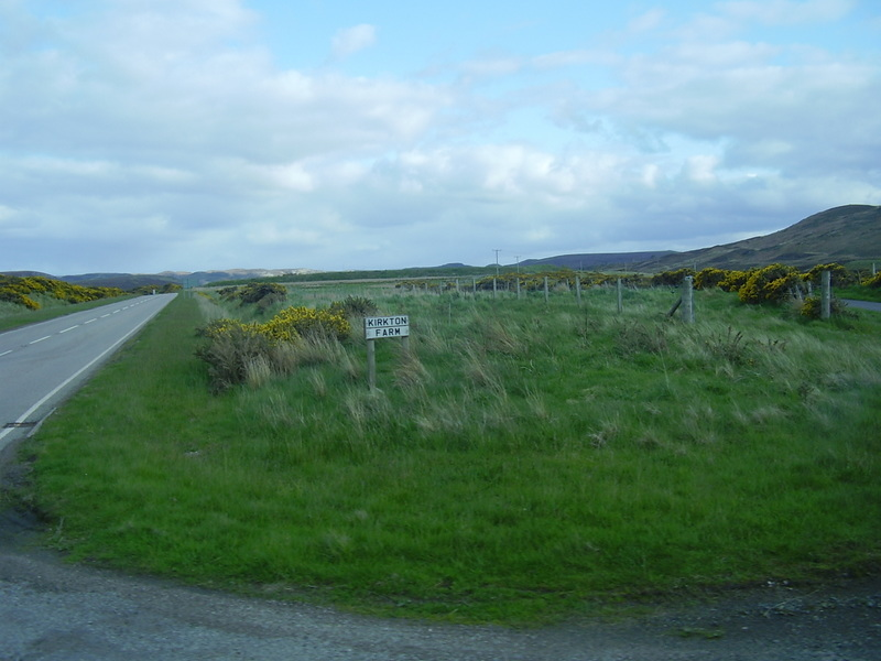 Kirkton Farm sign